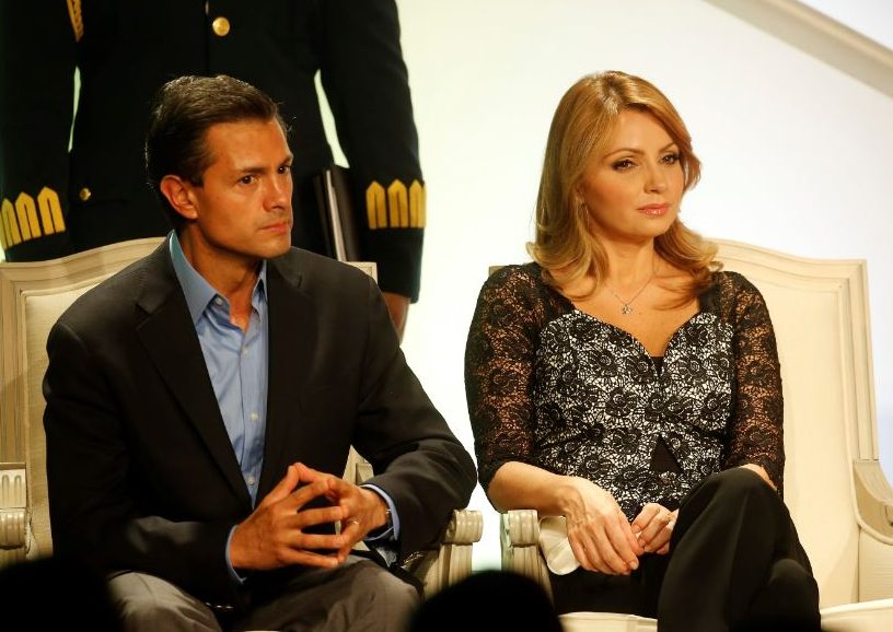 Foto: 'Angélica Rivera confirma su divorcio de Peña Nieto. 8 febrero 2019