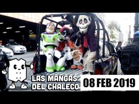 Foto: Las Mangas del Chaleco Romero Deschamps, Alejandro Fernández y muchas botargas