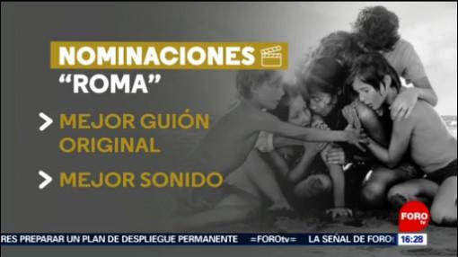 """FOTO: Las nominaciones de """"Roma"""" en los Oscar, 17 febrero 2019"""
