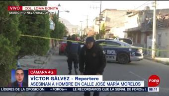Localizan cadáver de un hombre en Nezahualcóyotl, Edomex