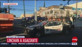 Foto: Matan Pasajero Asalto Ecatepec Linchan Delincuente 19 de Febrero 2019