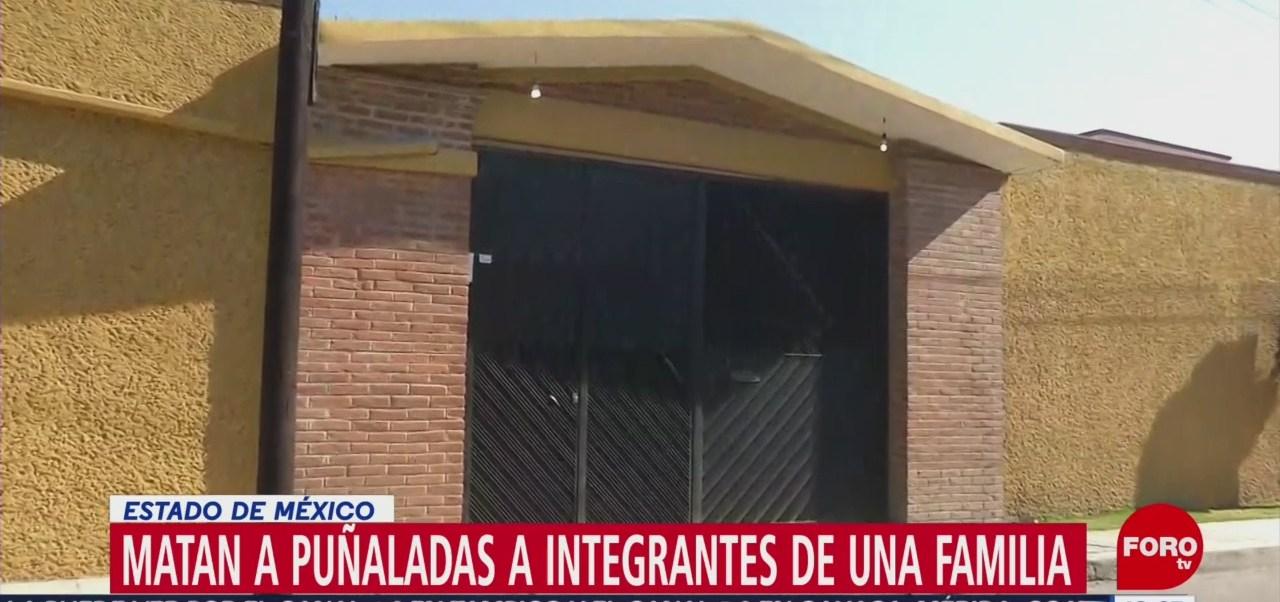 Foto: Matan a puñaladas a tres integrantes de una familia en Edomex