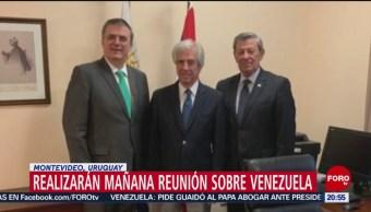 Foto: México Uruguay Realizarán Reunión Crisis Venezuela 06 de Febrero 2019