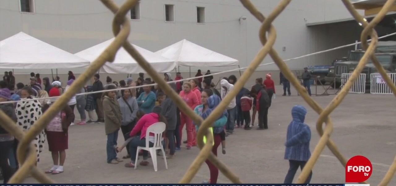 Foto. Migrantes centroamericanos, desesperados en Coahuila