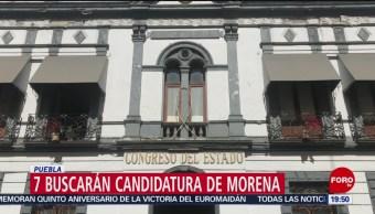 Foto: Miguel Barbosa Candidatura Gubernatura Puebla 22 de Febrero 2019
