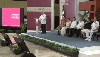 FOTO Torruco presenta Estrategia Nacional de Turismo, en Chetumal YouTube AMLO 24 febrero 2019