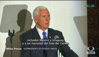 Foto: Mike Pence pide a México reconocer a Guaido como presidente de Venezuela