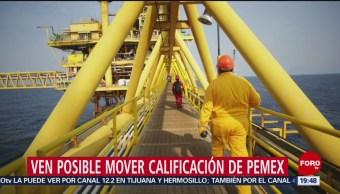 Foto: Moody's Calificación Pemex 26 de Febrero 2019