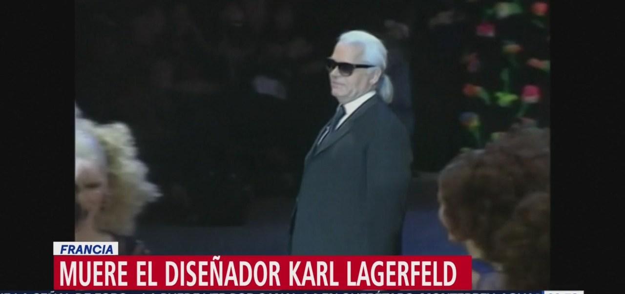 Muere el diseñador Karl Lagerfeld en Francia