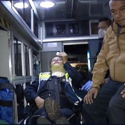 Mujer policía es agredida en alcoholímetro en la CDMX