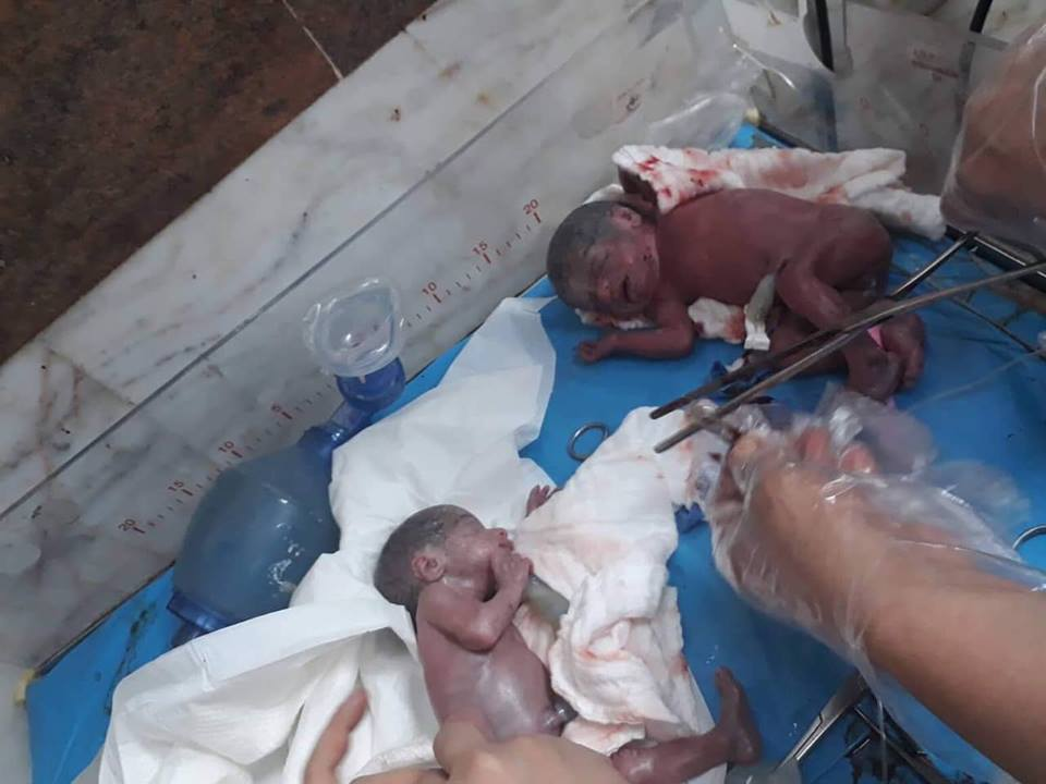 foto nacen siete bebes irak 12 febrero 2019