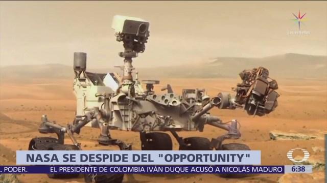 NASA pierde al robot explorador Opportunity, desplegado en Marte