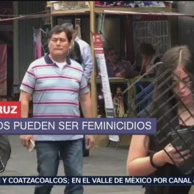 No disminuyen los feminicidios en Veracruz