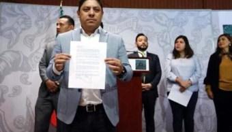 FOTO 9 diputados renuncian al PRD, uno se adhiere a Morena internet 19 febrero 2019