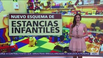 Nuevo esquema de estancias infantiles