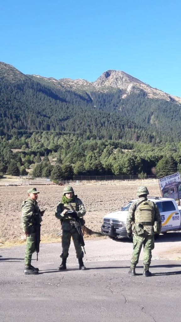 Foto: Operativo contra talamontes en cerro del Ajusco 21 febrero 2019