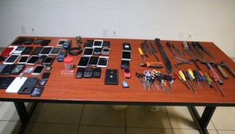 Foto: Operativo en Penal de Aguaruto, Sinaloa, 18 de febrero 2019. Twitter @sinaloahoy