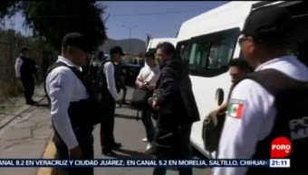 Foto: Operativo Asaltos Transporte Coacalco 21 de Febrero 2019