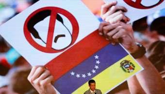 Venezuela, mitin de apoyo de la oposición, Juan Guaidó, Reuters, 8 febrero 2019