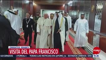 FOTO: Papa Francisco realiza vista a los Emiratos Árabes, 3 febrero 2019