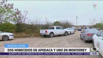Persecución y balacera termina con dos muertos en Apodaca, Nuevo León
