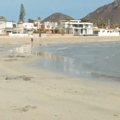 ¿Por qué el mar se aleja de playas mexicanas?