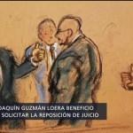 Foto: Podrían reponer el juicio a 'El Chapo' Guzmán, con nuevo jurado
