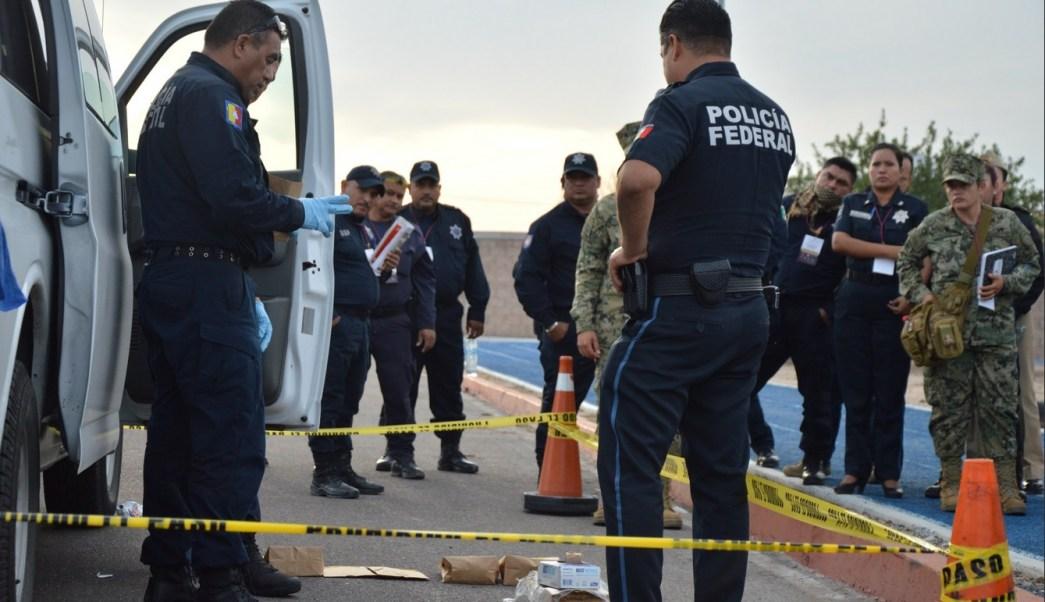 Foto: Capacitación de policías de BCS en materia de primer respondiente, 18 de enero 2019. Twitter @BcsSsp