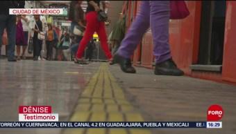 Foto. Con pulseras moradas, policías de la Ciudad de México dan la mano contra la violenciaPolicías de CDMX se suman a la campaña 'Dame la mano'