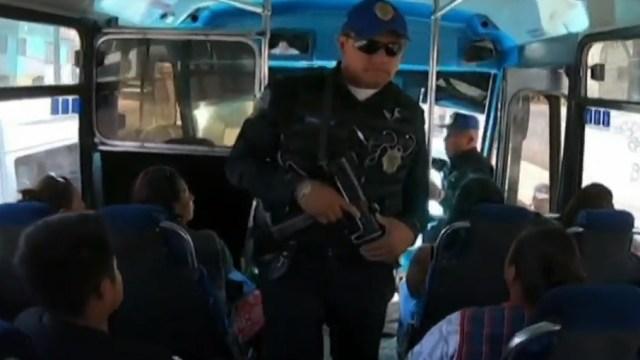 No hay policías suficientes para inhibir asaltos en transporte público de Iztapalapa; solo son 90