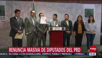 Foto: PRD Diputados Renunciaron Partido Servir Morena 19 Febrero 2019
