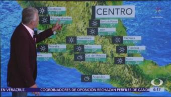 Prevén temperaturas de 35 a 40 grados Celsius en 10 estados de México