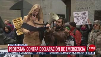 Foto: Protestan Declaración Emergencia Estados Unidos 18 de Febrero 2019