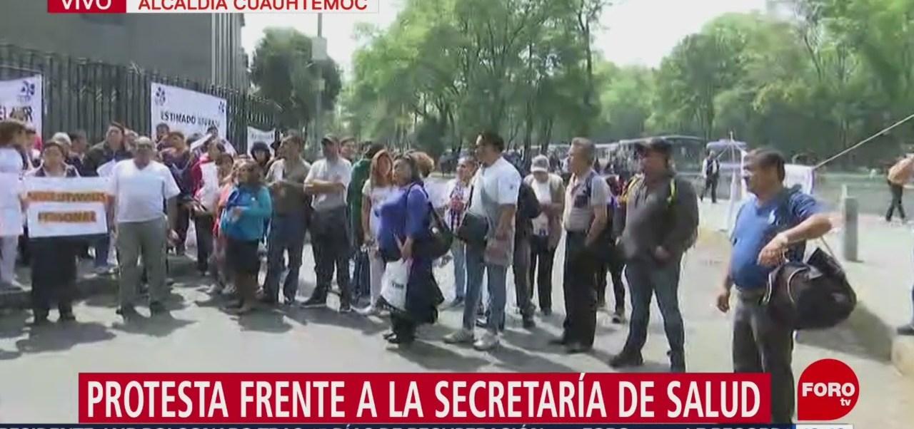 Foto: Protestan Frente Secretaría De Salud 13 de Febrero 2019