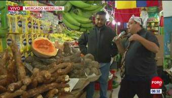Recorrido por el Mercado Medellín en la colonia Roma