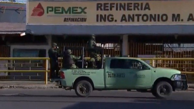 Tras amenazas, refuerzan vigilancia en refinería de Salamanca