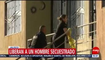 Foto: Rescatan a hombre secuestrado en Jalisco