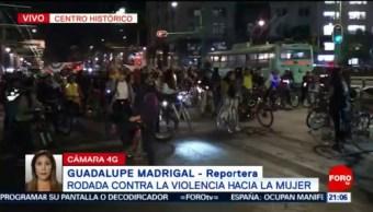 Foto: Rodada Ciclista Violencia Mujer Cdmx 01 de Febrero 2019