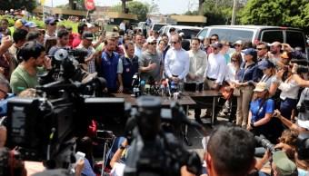 Foto: Rubio destacó la valentía del pueblo venezolano que lucha por su libertad y lo impulsó a continuar de esa manera, el 17 de febrero de 2019
