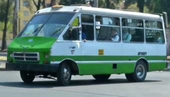 Rutas de transporte público capitalino exigen seguridad
