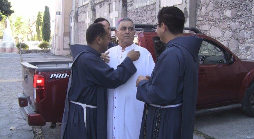 Foto: Salvador Rangel Mendoza, obispo de la diócesis Chilpancingo-Chilapa, 20 de febrero 2019, (Noticieros Televisa)