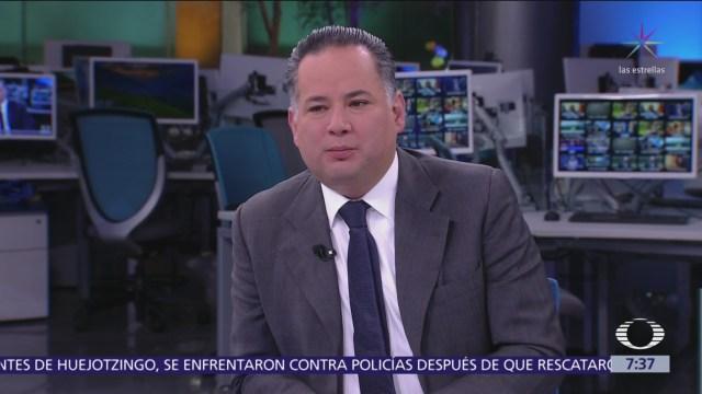 Santiago Nieto presenta libro 'Sin filias ni fobias. Memorias de un fiscal incómodo'