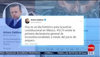 Foto: SCJN Emite Primera Vez Declaratoria Inconstitucionalidad 14 Febrero 2019