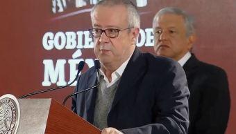 Foto: secretario de Hacienda, Carlos Urzúa, el 6 de febrero 2019