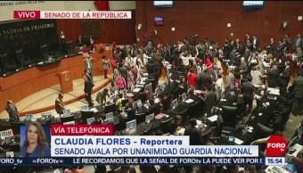 Foto: Senado avala la creación de la Guardia Nacional