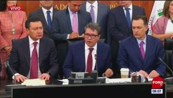 Senadores anuncian acuerdo sobre la Guardia Nacional