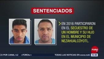 FOTO: Sentencian a 50 años de cárcel a dos secuestradores en Edomex, 17 febrero 2019