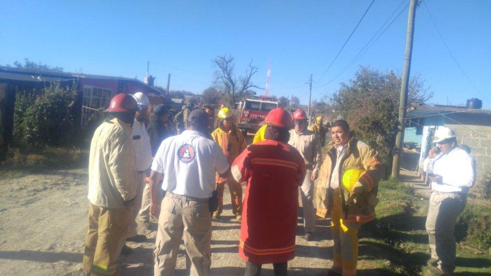 Foto: Suspenden clases en Ahuazotepec, Puebla 20 febrero 2019