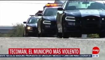 Foto: Tecomán Municipio Más Violento México 06 de Febrero 2019