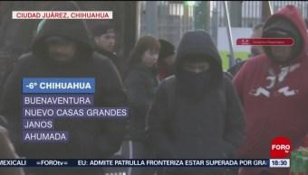 Foto: Temperaturas bajo cero en 28 municipios de Chihuahua